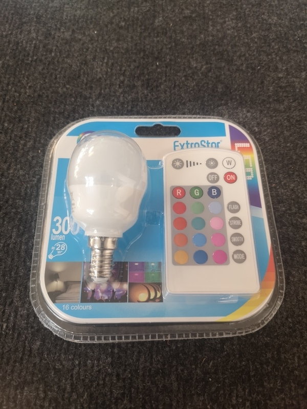Ampoule LED RGB 5W