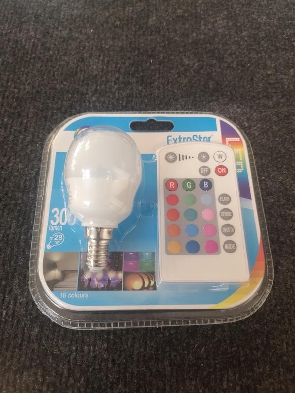Ampoule LED RGB 5W